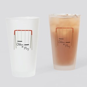 Swing Set Drinking Glass