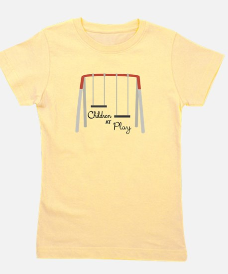 Swing Set Girl's Tee