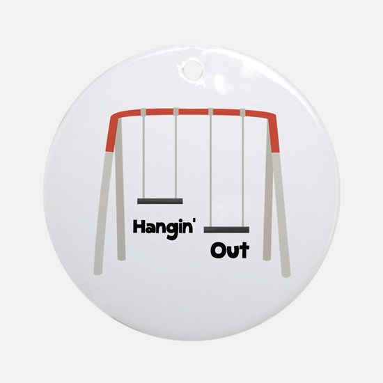 Hangin Out Ornament (Round)