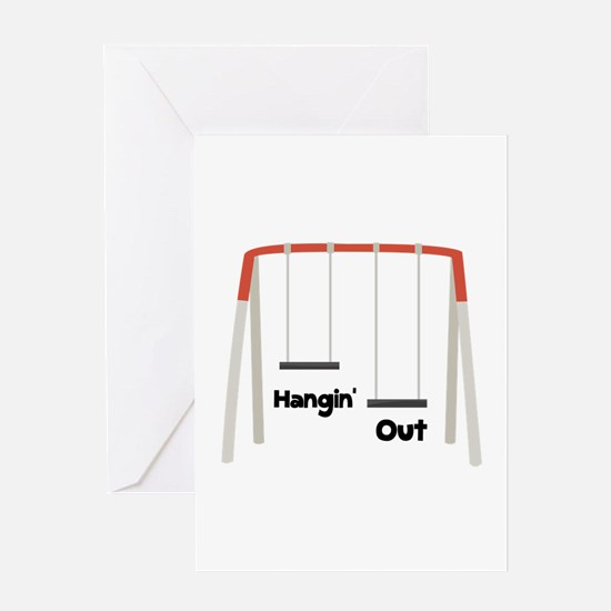 Hangin Out Greeting Cards