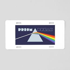 Prism Break Aluminum License Plate