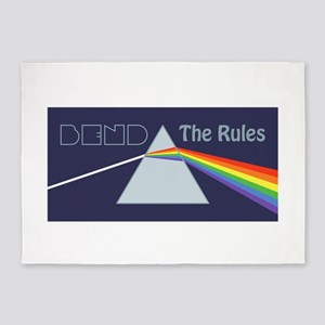 Bend The Rules 5'x7'Area Rug
