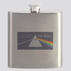 Bend The Rules Flask