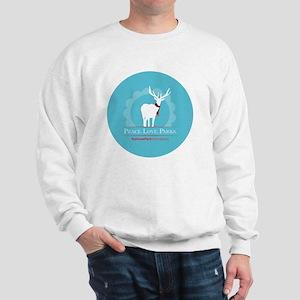peace_love_parks Sweatshirt