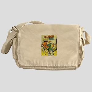Jill Trent: Science Sleuth Messenger Bag