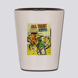 Jill Trent: Science Sleuth Shot Glass
