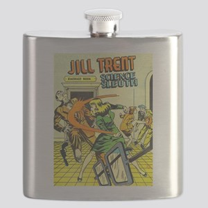 Jill Trent: Science Sleuth Flask