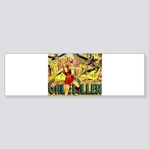 Gale Allen and the Girl Squadron Bumper Sticker