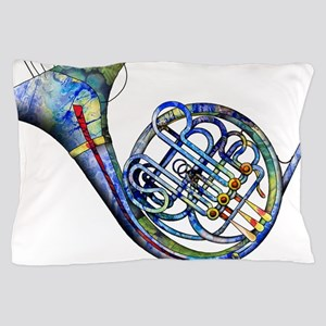 French Horn Pillow Case
