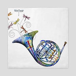 French Horn Queen Duvet