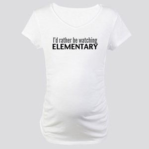 Elementary TV Maternity T-Shirt