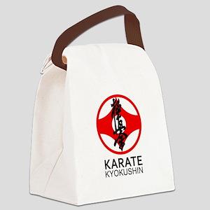 Kyokushin Karate Symbol and Kanji Canvas Lunch Bag