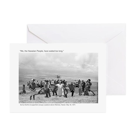 Waimea Protest (1974): Greeting Cards (Pack of 6)