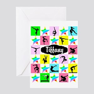 FIERCE GYMNAST Greeting Card
