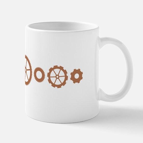 Mechanical Gears Mugs
