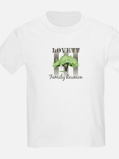 LOVETT family reunion (tree) T-Shirt