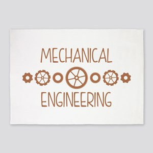 Mechanical Engineering 5'x7'Area Rug