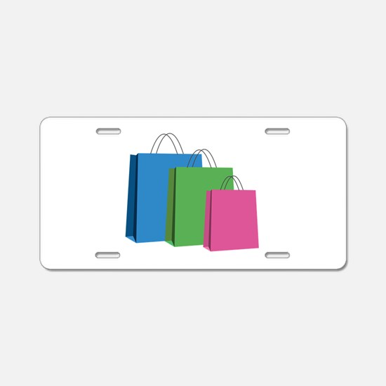 Shopping Bags Aluminum License Plate