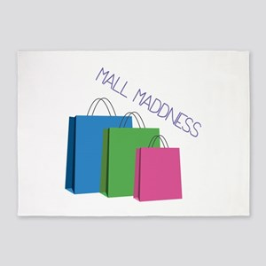 Mall Maddness 5'x7'Area Rug
