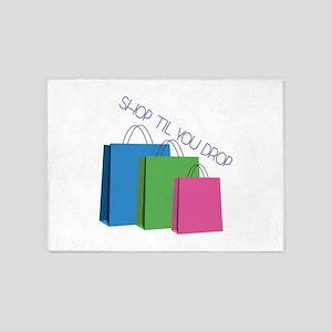 Shop Til You Drop 5'x7'Area Rug