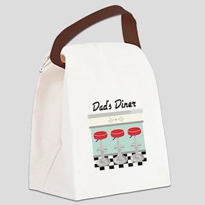 Dad's Diner Canvas Lunch Bag