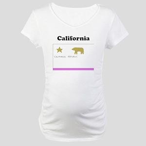 California State Flag Maternity T-Shirt