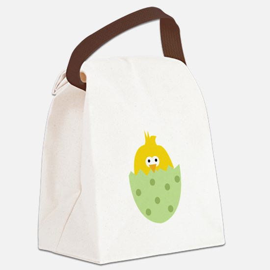 Easter Chick Canvas Lunch Bag