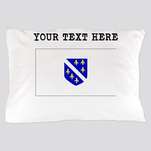 Custom Bosnia Herzegovina Flag Pillow Case