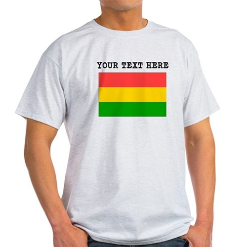 Custom Bolivia Flag T-Shirt