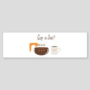 Cup A Joe? Bumper Sticker