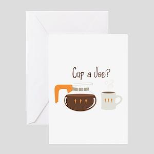 Cup A Joe? Greeting Cards