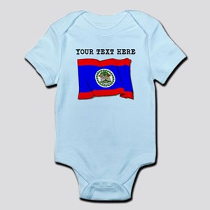Custom Belize Flag Body Suit