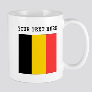 Custom Belgium Flag Mugs