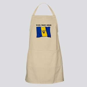 Custom Barbados Flag Apron