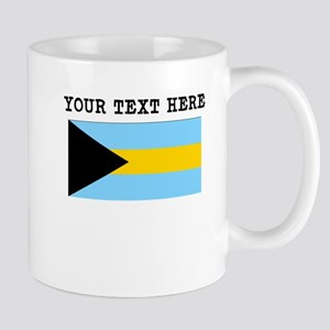 Custom Bahamas Flag Mugs