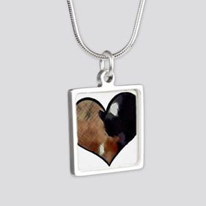 Dogs and Cats in a Heart Shaped Yin Yang Necklaces