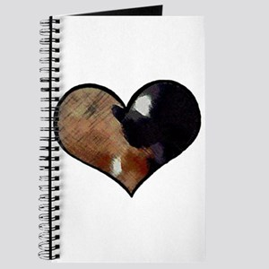 Dogs and Cats in a Heart Shaped Yin Yang Journal