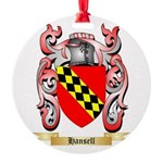 Hansell Round Ornament