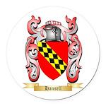 Hansell Round Car Magnet