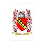 Hansell Sticker (Rectangle 10 pk)