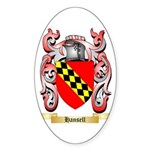 Hansell Sticker (Oval 10 pk)