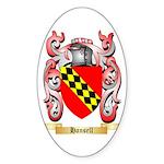 Hansell Sticker (Oval 50 pk)