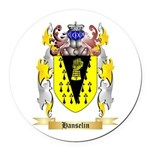 Hanselin Round Car Magnet