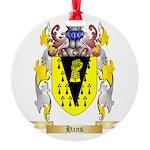 Hans Round Ornament