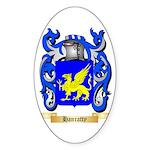 Hanratty Sticker (Oval)