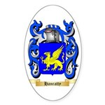 Hanratty Sticker (Oval 50 pk)