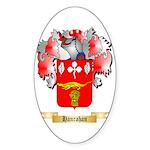 Hanrahan Sticker (Oval 50 pk)