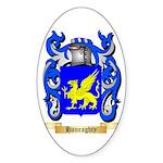 Hanraghty Sticker (Oval)
