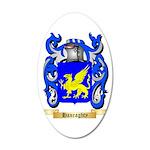 Hanraghty 35x21 Oval Wall Decal