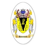 Hanousek Sticker (Oval 10 pk)